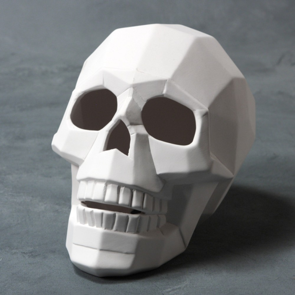 Faceted Skull