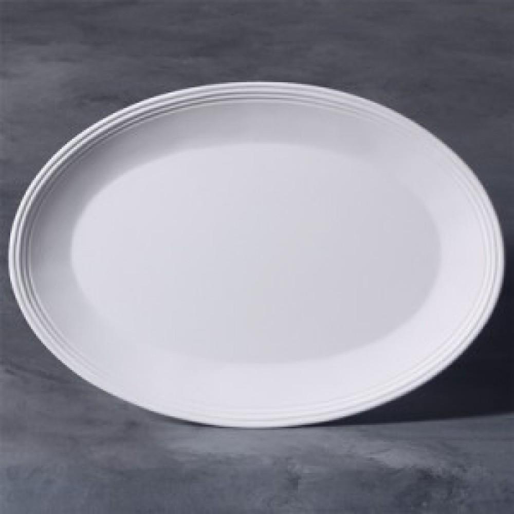 Oval Stoneware Platter
